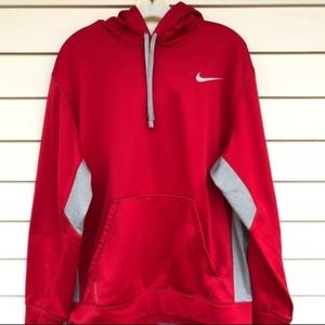 Nike therma fit red hoodie